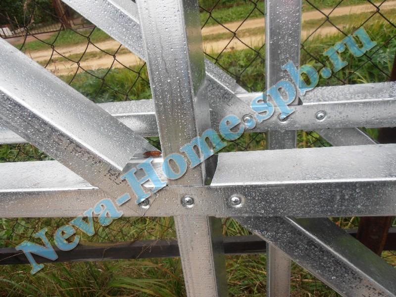 Крепление легких стальных конструкций на саморезы
