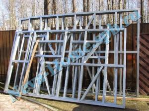 Хозблок для дачи из легких стальных конструкций